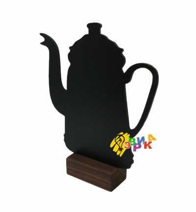Фото: Меловой чайник на подставке 15Х25