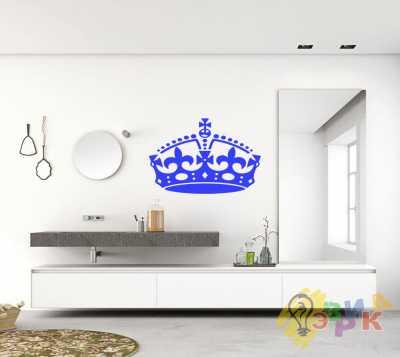 Фото: Виниловые наклейки для стен 'Корона' 32х47 см